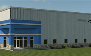 Vestil Manufacturing Score Award Rendering of New Facility Angola Indiana