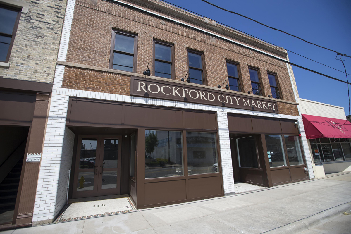 Rockford City Market store front